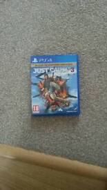p.s.4 just cause 3 game