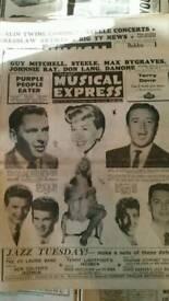 Vintage NME papers x 40