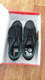 Bjorn-Borg-T300-Low-RBR-Trainers-Black-Mens-UK-9-New-Unworn-Reduced