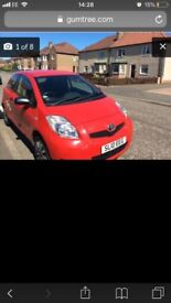 Toyota Yaris 2010 reg in excellent condition