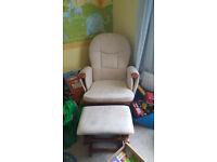 maternity feeding rocking chair and rocking stool