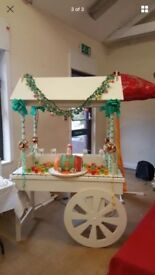 Candy Cart for Hire - wedding birthday baby shower christening party holy communion fun day