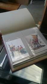 Regimental military postcards in excellent condition 80+