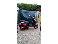 Peugeot vivacity 50 cc moped