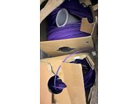 Brand Rex cat 6 networking cable - 2 partial spools - £20
