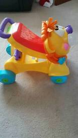 Fisher price ride on baby walker