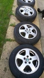 skoda fabia alloys wheels