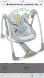 Ingenuity Baby Musical Swing - Brand New Gift