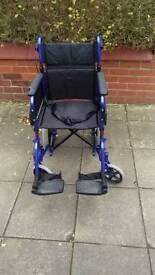 Invacare Alu Lite Transport Wheelchair