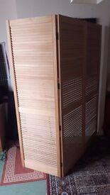 Wooden Room Divider 6ft
