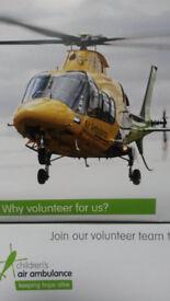 VOLUNTEER FOR AIR AMBULANCE SHOP WOLLATON