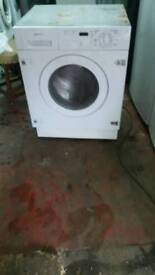 WHITE INTEGRATED WASHER DRYER 3 MONTHS GUARANTEE