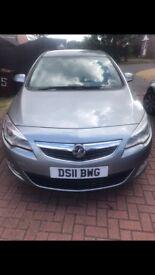 Vauxhall Astra 11 plate 1.4 petrol