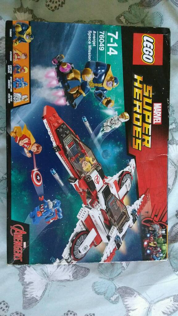 Brand new Lego marvel 76049