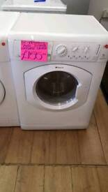 HOTPOINT WHITE 7KG WASHER DRYER