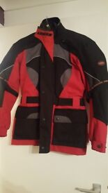 Motorbike jackets and trousers male and female