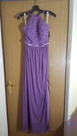 Davids Bridal Bridesmaid Dress Wisteria Brand New