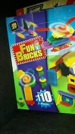Children's fun bricks