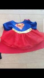 Build a bear Supergirl costume