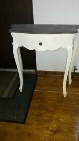 As new Shabby chic console table