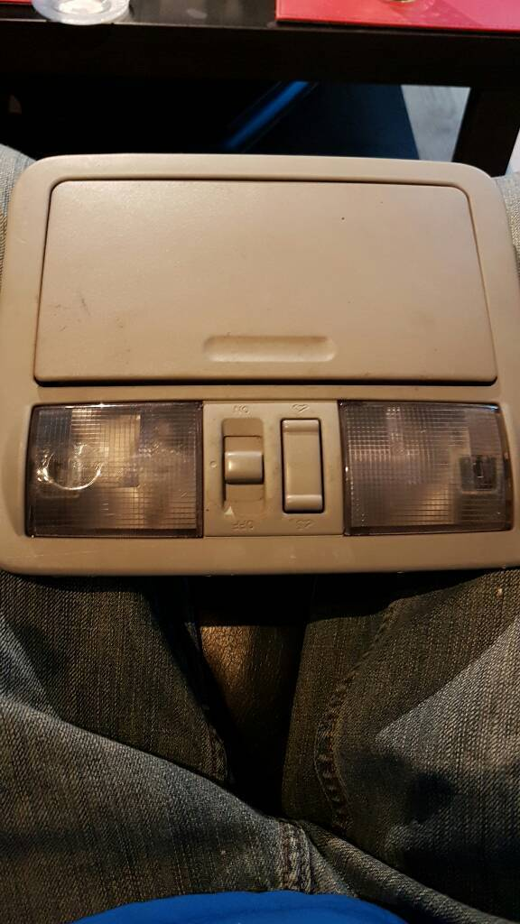 Nissan Navara d40 interior light unit with sunroof switch   in Glenrothes, Fife   Gumtree