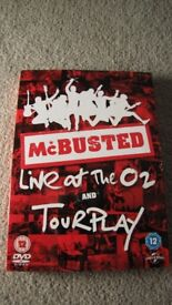 McBusted Live at The O2 & TourPlay DVD set - NEW CONDITION