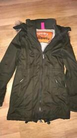 Superdry Parka size small