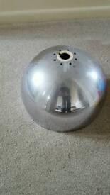 Metal light fittings