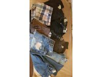 HOLLISTER & ABERCROMBIE SKINNY JEANS AND SHORTS BUNDLE