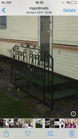 Metal Caravan steps