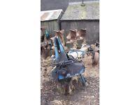 Ransome reversible plough