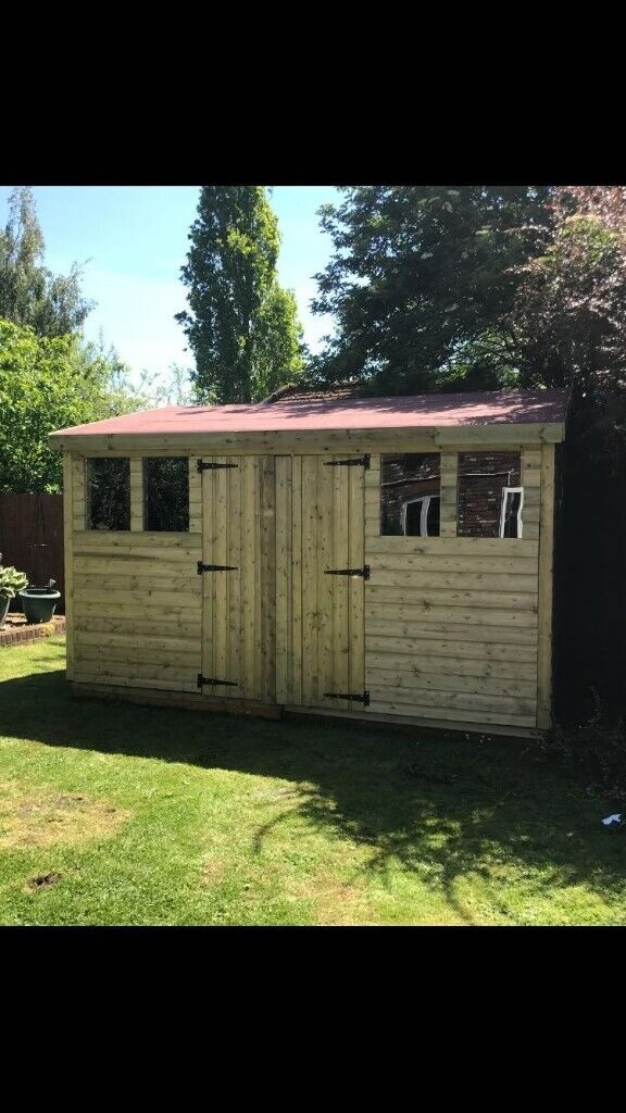 12x12 Garden Building, Summerhouse, Office, Shed, Mancave