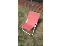 foldable garden chair