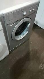 Silver indesit 6kg washing machine