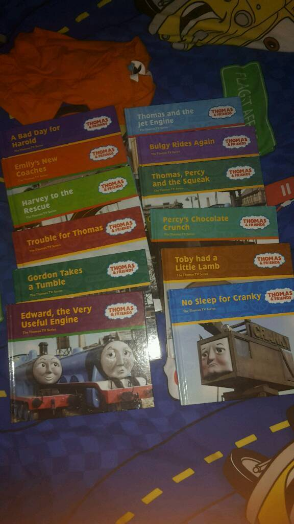 Thomas and Friends book bundle