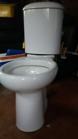 White ceranic toilet