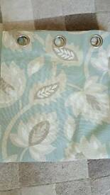 Brand new beautiful eyelet curtains
