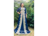 Caftan wedding dress