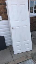 4 wooden doors with handles