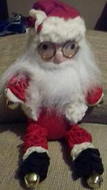 SANTA CLAUS WITH SPECTACLES