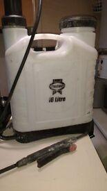 faithfull 16 litre knapsack sprayer