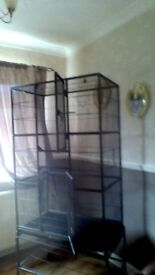 large bird cage ideal for parrot or cockatiels