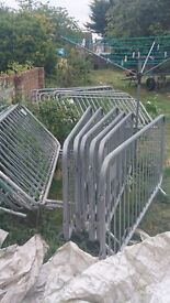 20 Metal fence