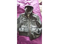 River Island Ladies black Leather Jacket