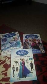 Frozen book n stickers