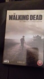 THE WALKING DEAD - COMPLETE SECOND SEASON - 4 DISCS