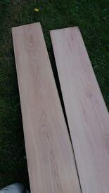 Laminate flooring - REDUCED PRICE FOR QUICK SALE £3.50