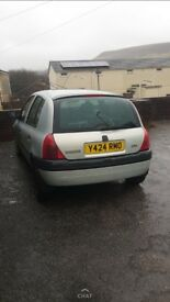 Renault Clio open to offers or swaps
