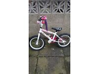 14inch and 12inch childrens hello kitty bikes