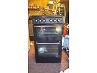 NEW WORLD 500TSIDL Gas Cooker - Black